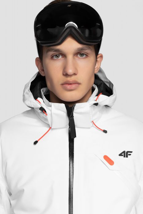 Men s ski jacket KUMN255 - white c7b031d13